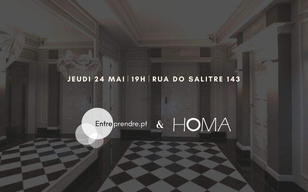 Apéritif entrepreneurial le jeudi 24/05, 19h – HOMA