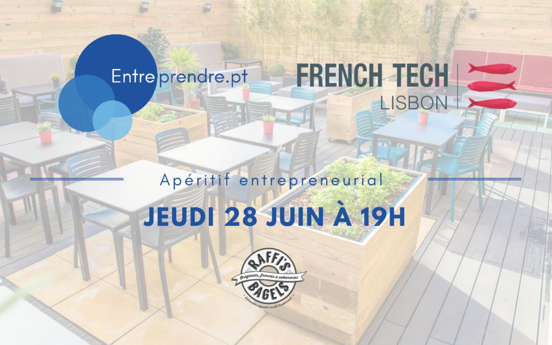 Apéritif entrepreneurial le jeudi 28/06, 19h – RAFFI'S BAGEL